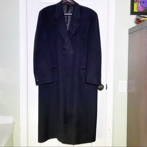Vintage Hickey Freeman Overcoat 1980s